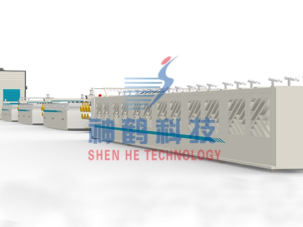 超高分子量聚乙烯荧光纤维生产线
